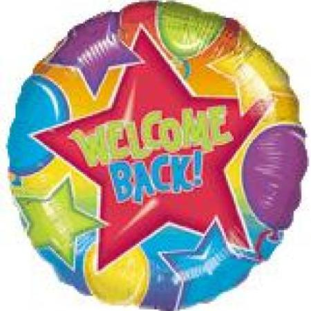 Welcome Back Balloon